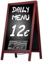 Daily Menu - Benta Miguel Restaurant